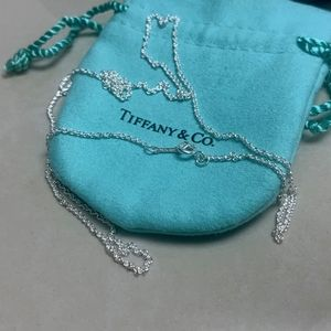 "Jewelry - Tiffany & Co Chain 24""  NWOT"